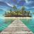 deserted tropical paradise stock photo © orla