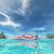 plaj · mutlu · kadın · dinlenmek · bikini · güneş · gözlüğü - stok fotoğraf © orla