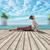 summer yoga session stock photo © orla