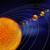 太陽系 · 科学 · 要素 · 画像 · 太陽 · スペース - ストックフォト © orla