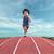 runner on the track stock photo © orla