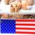 arachidi · vendita · esterna · bandiera · mercato · mangiare - foto d'archivio © oscarcwilliams