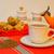herbaty · pozostawia · cukru · jar - zdjęcia stock © ottoduplessis