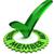 yeşil · kelime · evet · 3D · 3d · render · örnek - stok fotoğraf © outstyle