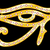gold eye of horus stock photo © oxygen64