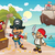 сокровище · острове · Cartoon · фантазий - Сток-фото © oxygen64