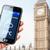 main · smartphone · météorologiques · Londres · écran - photo stock © pab_map
