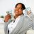 charming woman holding plenty of cash money stock photo © pablocalvog