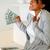 happy woman holding plenty of cash money stock photo © pablocalvog