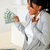 woman holding and looking to plenty of cash money stock photo © pablocalvog