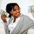 charming young woman holding plenty of cash money stock photo © pablocalvog