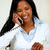 Lovely young woman on phone stock photo © pablocalvog