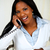African young woman speaking on phone stock photo © pablocalvog