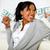 beautiful girl holding plenty of cash money stock photo © pablocalvog