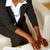 черный · костюм · рабочих · ноутбука · портрет · сидят - Сток-фото © pablocalvog