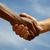 dwa · biznesmenów · drżenie · rąk · finansowych · działalności · biznesmen - zdjęcia stock © pakhnyushchyy