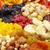 secas · frutas · nozes · datas · topo · ver - foto stock © pakhnyushchyy