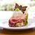 cake on plate stock photo © pakhnyushchyy