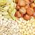 куча · пшеницы · текста · изолированный · белый · продовольствие - Сток-фото © pakhnyushchyy
