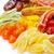 essiccati · tropicali · frutti · piatto · rosso - foto d'archivio © pakhnyushchyy