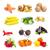 friss · zöldségek · kollázs · bioélelmiszer · zöldségek · természetes · fa - stock fotó © pakhnyushchyy