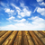 blue · sky · piso · de · madeira · céu · quadro · verão · azul - foto stock © pakhnyushchyy