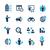 internet · azul · profissional · ícones · site - foto stock © palsur