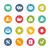 Web Icons -- Fresh Colors Series stock photo © Palsur