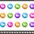 dobrador · ícones · verde · vetor · teia - foto stock © palsur