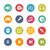 Media center Icons -- Fresh Colors Series stock photo © Palsur