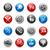website · iconen · gel · glanzend · web · icons · huis - stockfoto © palsur