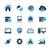 web developer icons azure series stock photo © palsur