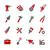 tools icons   redico series stock photo © palsur