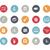 onderwijs · iconen · azuur · vector · web · afdrukken - stockfoto © palsur