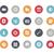iconos · de · la · web · vector · iconos · web · móviles · impresión - foto stock © palsur