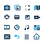 media interface icons azure series stock photo © palsur