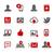 social · comunicaciones · vector · iconos · digital · impresión - foto stock © palsur