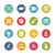Education Icons -- Fresh Colors Series stock photo © Palsur