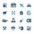 gasolinera · iconos · vector · web · impresión - foto stock © palsur