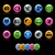 communication icon set   gelcolor series stock photo © palsur
