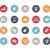 inalámbrica · comunicaciones · iconos · vector · web · móviles - foto stock © Palsur
