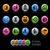 empresa · estrategia · iconos · vector · archivo · color - foto stock © Palsur