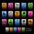 sports icons color box stock photo © palsur