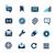 üzenetek · appok · interfész · vektor · ikonok · háló - stock fotó © palsur