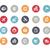 iconos · vector · web · móviles · impresión - foto stock © palsur