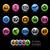 logística · iconos · negro · eps10 · vector · formato - foto stock © palsur