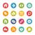 Surf the Net Icons -- Fresh Colors Series stock photo © Palsur
