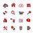 server · iconen · vector · web · afdrukken - stockfoto © palsur