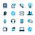 boek · iconen · azuur · vector · web · afdrukken - stockfoto © palsur