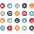 social · media · iconen · vector · web · mobiele · afdrukken - stockfoto © Palsur